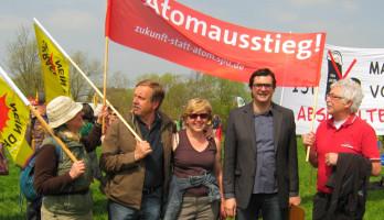 Mit Bundestagskandidat Ralf Hofmann