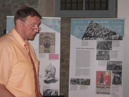 Glückwünsche vom Kreis KT, Stellvertr. Landrat Robert Finster